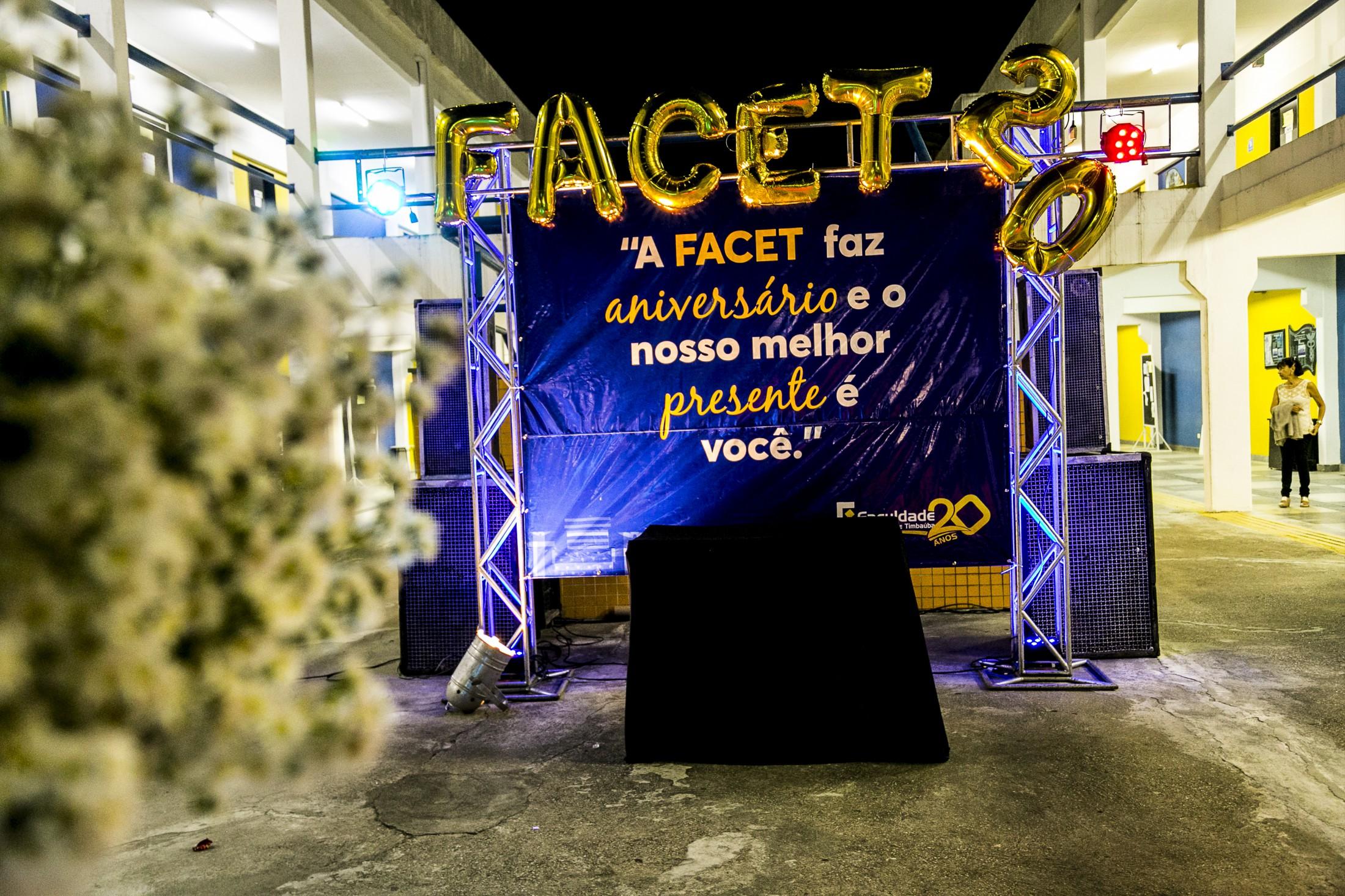 Festa de comemoração dos 20 anos da Faculdade